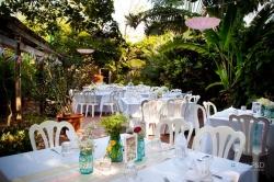 Garden reception!