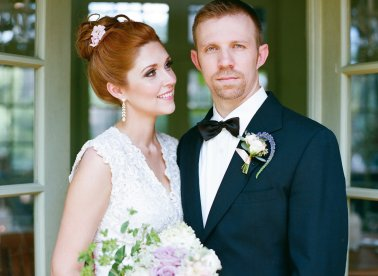 Style Me Pretty ♥ http://www.stylemepretty.com/north-carolina-weddings/charlotte/2014/12/01/second-chance-wedding-shoot-in-north-carolina-at-the-vanlandingham-estate/