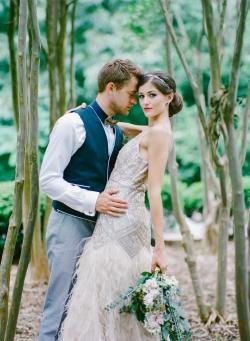 Weddings Unveiled ♥ http://www.weddingsunveiledmagazine.com/2014/08/wedding-inspiration-art-deco-blue-and-gold.html