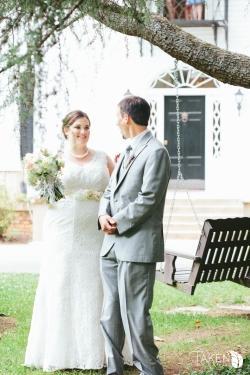 DIY Bride ♥ http://diybride.com/hannah-bens-literary-themed-garden-wedding/